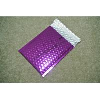 Antistatic Metallic Pink Bubble Mailers , Bubble Wrap Bags 135x210 #-AC