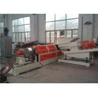 Quality Single Screw Compounding Plastic Pellet Making Machine With Force Feeder for sale