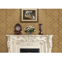Quality Classical Damask Pattern European Style Wallpaper 3D Effect Wall Covering for sale