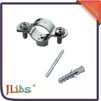 Durable Double Bolt Large Diameter Pipe Clamps Anti Corrosion Environment Friendly