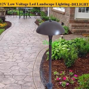 Waterproof aluminum outdoor garden pole Light exterior led landscape light 12V 3W led path lighting (DL-LL013)