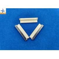 nicked-plated shell 0.039 inch pitch PA66 material crimp type DF19 wire to board connector