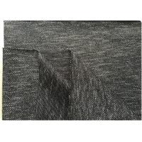 Quality Black White Knit Stretch Wool Fabric With Hong-Kong Style 73% Wool18 Polyester 400 Gram for sale