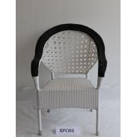 Wholesale White Outdoor Leisure Chair Plastic Weaving Rattan Chair from china suppliers