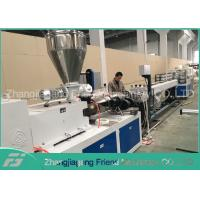 Quality Environmental Protection Plastic Pipe Machine High Output Simple Operation for sale