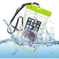 Underwater Outdoor Universal IPX8 Waterproof Pouch Waterproof Dry Bag for Cell Phone with Dule-Sides Transparent Windows