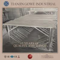 Wholesale Hot dipped Galvanized  h frame scaffolding system Carbon structure steel from china suppliers