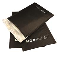 Wholesale Black color kraft bubble mailer padded envelope with logo air packaging bag from china suppliers