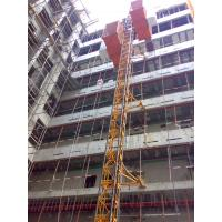 Custom Red Painted Safe Construction Material Hoists SC200 / 200 for Builder
