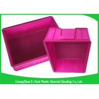 Quality Mini Load Euro Containers With Lids , Standard Plastic Stacking Boxes PP Materials for sale