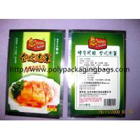 Quality Compound Aluminium Foil Bag Stand Up Pouches For Pickles / Instant Food for sale