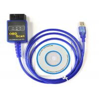 Wholesale Universal USB OBD2 Interface OBD Scan Tool OBDii Diagnostic Cable Car Diagnostic Device from china suppliers