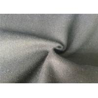 Quality Skin Friendly Soft Melton Wool Fabric For Garment , Wool Coating Fabric for sale