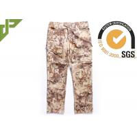 Wholesale Highlander Mens Army Cargo Pants With Slanted Pocket , Bdu Combat Trousers from china suppliers