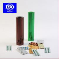 Wholesale Brown / Green Transparent Smooth Extruded Rigid PVC Film Sheet from china suppliers
