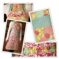 Wholesale kitchen flower printing lady body apron from china suppliers