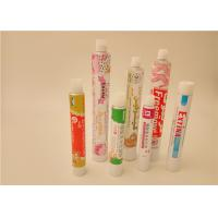 Quality Dermatological Aluminium Collapsible Tubes , Pharmaceutical Aluminum Tubes for sale