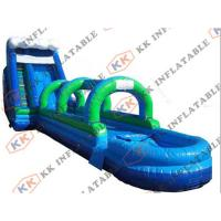 Wholesale Anti Friction Commercial Inflatable pool Water Slide PVC tarpaulin For Adult from china suppliers