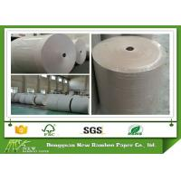 100% recycled Grey Paper Roll folding resistance Support customized cut