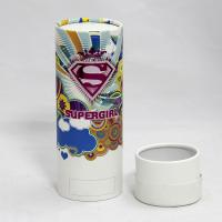 Moisture-proof Colorful Cylindrical Paper Can Packaging for Underwear and T-shirt