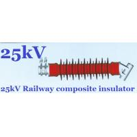 Quality IEC61109 Tension Railroad Insulators Polymeric High Pollution Resistance for sale