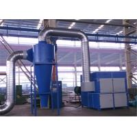 Buy cheap Metal Frame Dust Collector Separator, Carbon Steel Cyclone Dust Separator from wholesalers