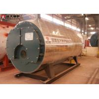 350Kw / 700Kw Oil Fired Hot Water Boiler Horizontal Automatic Running