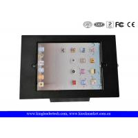 Wholesale Desktop Black 9.7Inch Ipad Kiosk Enclosure With Security Lock For Anti-Theft from china suppliers