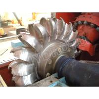 Wholesale Pelton Water Turbine / Pelton Hydro Turbine with Cast Machined / Forge CNC machined Wheel from china suppliers