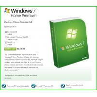 Wholesale Windows 7 Product Key Codes For Microsoft Windows 7 Home Premium from china suppliers