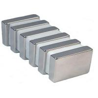 Wholesale Electronics N48 Sintered Neodymium Block Magnets , Custom Rare Earth Permanent Magnet from china suppliers
