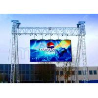 Curved Outdoor LED Screen Display , LED Video Display Panel Rental P5.95