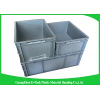 Quality Standard Plastic PP Industrial Storage Bins , Reusable Plastic Stacking Boxes for sale