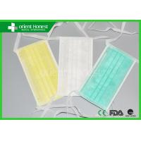 Wholesale Non Woven Tie On Surgical Disposable Face Masks Operation Use from china suppliers