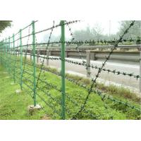 Quality Easy Construction Anti Climb Fencing Size Customized Prison Security Fence for sale