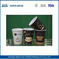 Custom Single Wall / Double Wall / Ripple Wall Paper Cups for Coffee / Beverage Packing