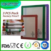 silicone baking mat private label ,silicone mat with custom printing