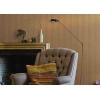 Quality Durable Waterproof PVC European Concise Wall Covering Striped Wallpaper for sale