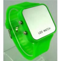 Wholesale Plastic Case glass Screen LED Digital Wrist Watch With Time And Date Function from china suppliers