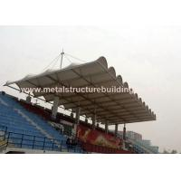Quality Aluminum Window Prefabricated Steel Structures Round Steel Brace For Stadium for sale