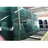 Quality Fire Proof Safety Laminated Glass Curtain Wall / Stairs Safety Glass Panels for sale