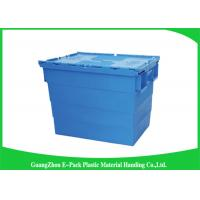 Quality 600*400*462mm Heavy Duty Moving Turnover Crate Wholesale Plastic Storage Containers for sale