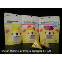 Quality Fruit Gummy Candy Packaging Stand Up Pouch With Ziplock Customized Size for sale