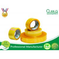 Quality Hot Melt Transparent BOPP Packing Tape For Carton Sealing Environmental Protection for sale
