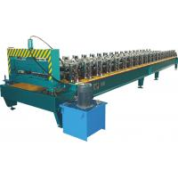 High Speed Roof Panel Roll Forming Machine With Chain Drive PLC Control