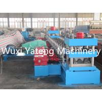 Wholesale Gear Box Driven Highway Guardrail Roll Forming Machine 6 - 10m / Min Speed from china suppliers