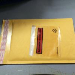 Golden Kraft bubble mailer