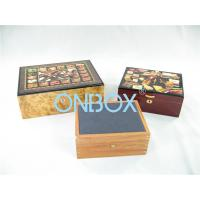 Quality Luxury Gifts Packaging Painted Wooden Boxes For Cigar , Watch , Jewellry for sale