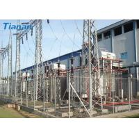 Quality 3 Phase 110kV Industrial Oil Immersed Power Transformer With Corrugated Steel Plate Tank for sale