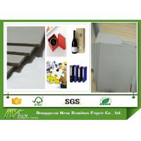 Quality 1250gsm Un-coated Grey Paperboard for printing industry / arch file / bookcover / boxes / desk calendar for sale